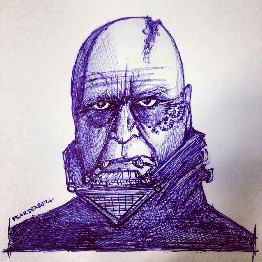 Darth Vader without mask! by FSardenberg on DeviantArt