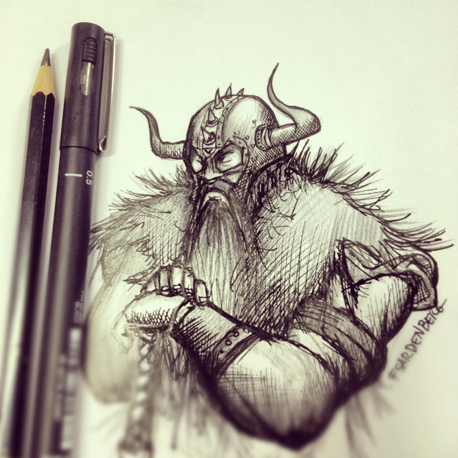 Viking by fsardenberg on deviantart for Viking pencils