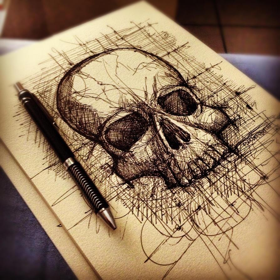 Skull by FSardenberg