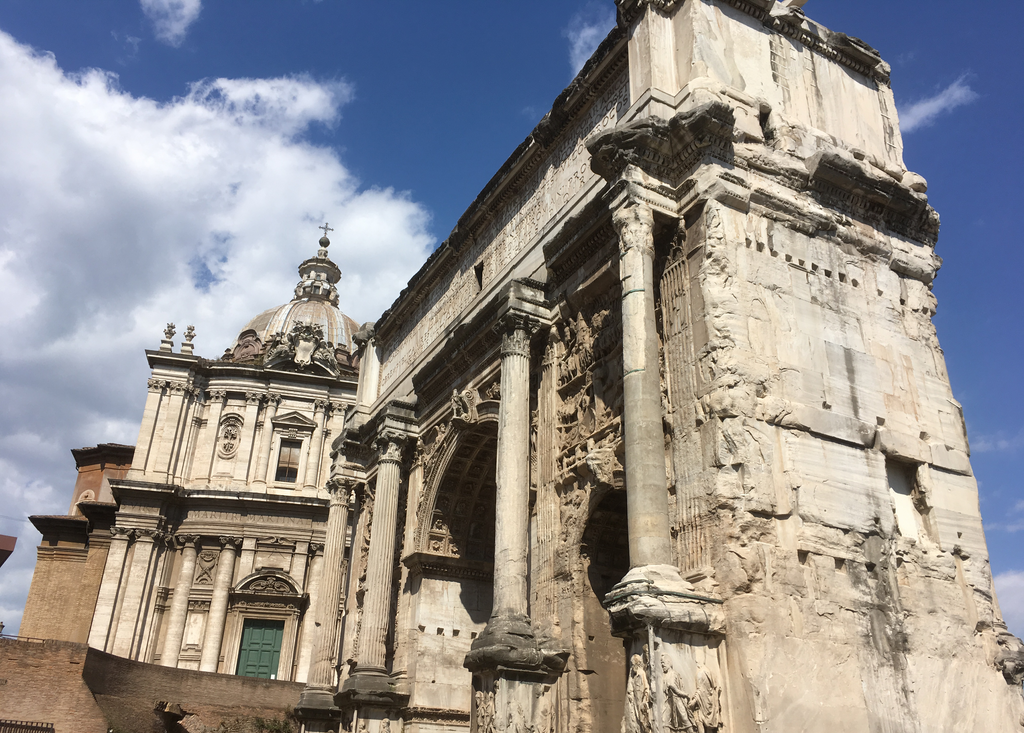 Arch of Septimius Severus by Stidl