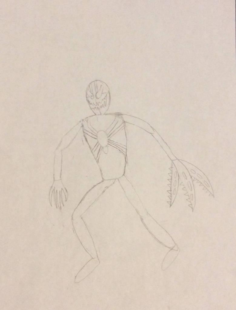Redback spidersona draft by psychoman13