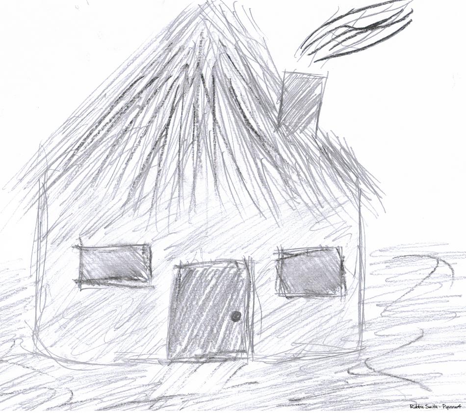 African Mud Hut by poparoo4 on DeviantArt
