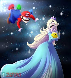 Mario y Rosalina