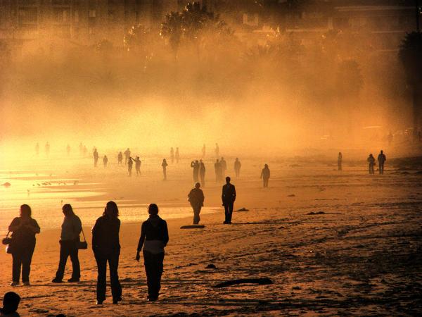 Fog Walkers by Caitiekabob