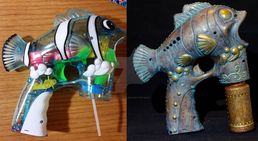 Before After - Fish Gun
