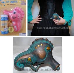 Mini Seahorse Bubble Gun