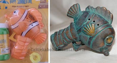 Mini Fish Bubblegun