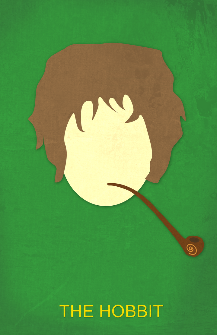 the hobbit minimalist movie poster by bennyjaykay on deviantart. Black Bedroom Furniture Sets. Home Design Ideas