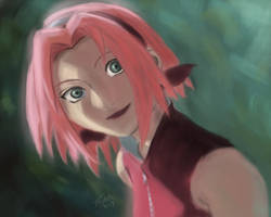 Portrait of Sakura