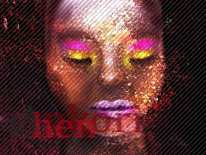 ebony glitters by Ankori