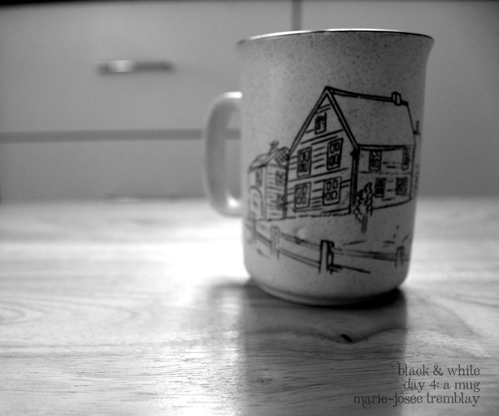 Monochrome : A Mug by J0W3x