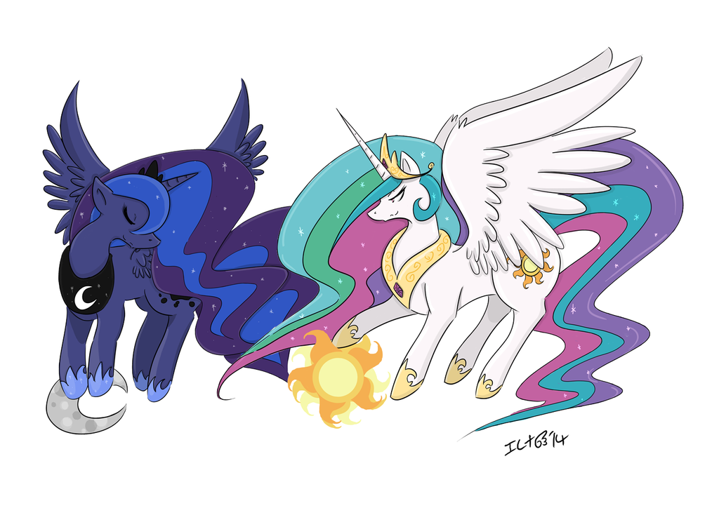 Heavenly Sisters by elenawing