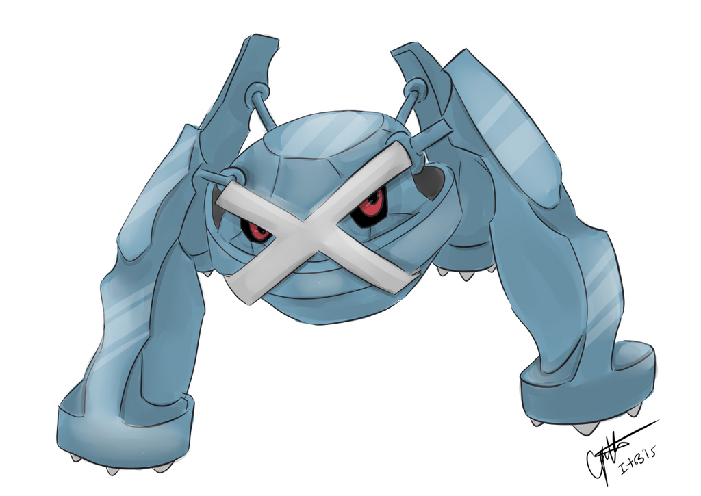 Metagross Commission by elenawing