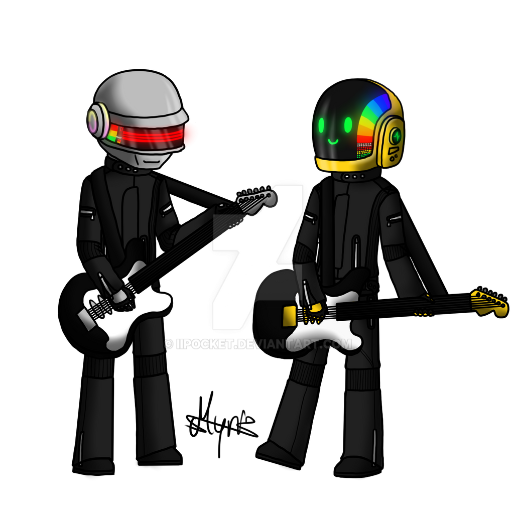 Daft Punk by PocketChocolate