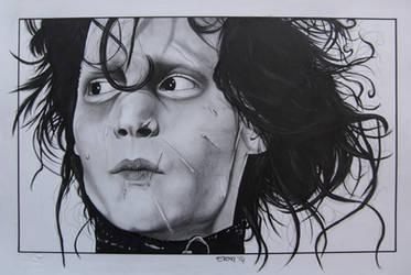 Edward the scissorhand by SpleenArt