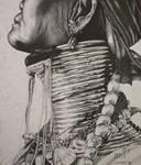 Kayan Woman by SpleenArt
