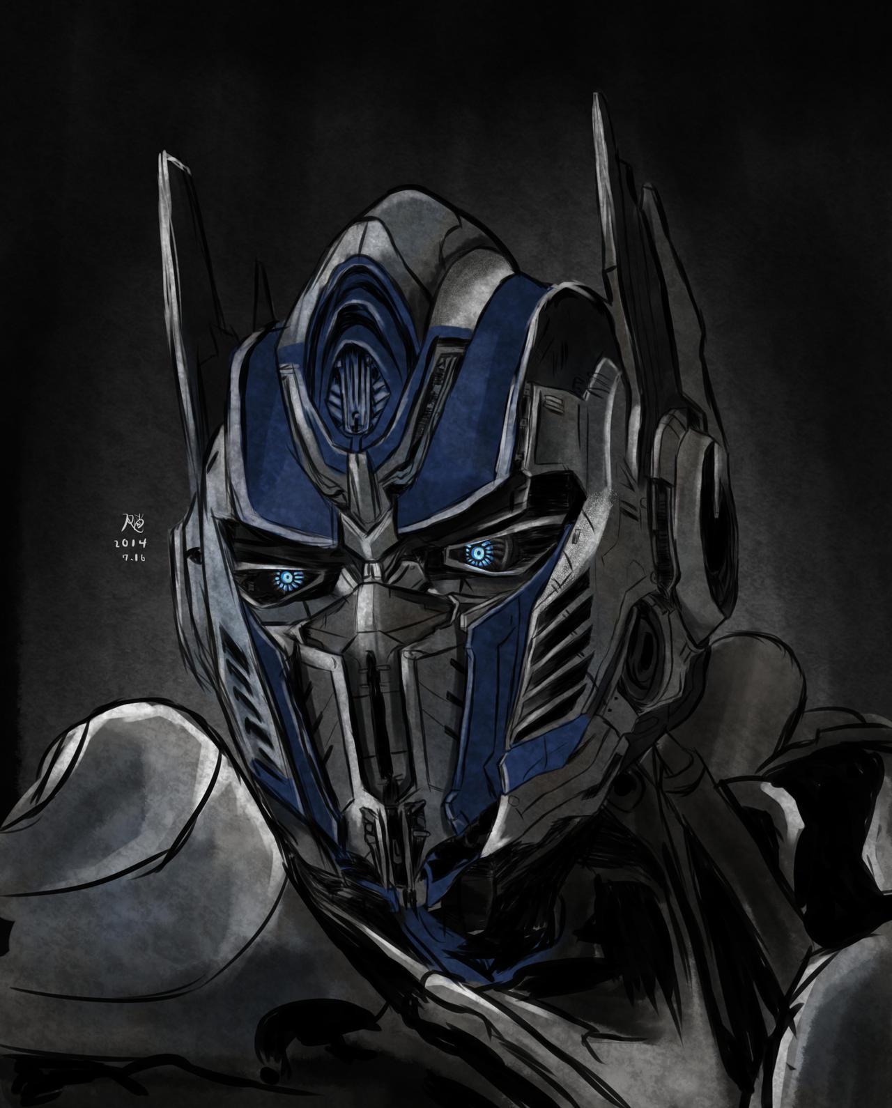 Optimus Prime by boo33...