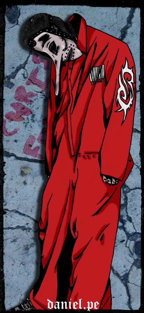 Slipknots Chris Fehn By Deathminstrel