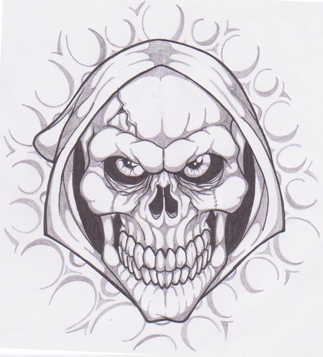 Evil Skull by AlexNS on DeviantArt