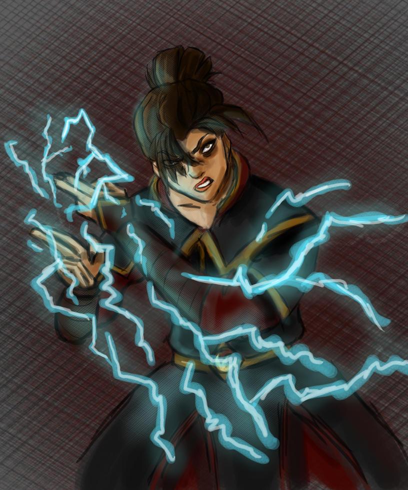 Firelord Azula by random-syhn