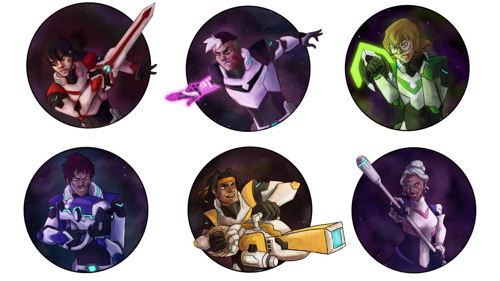 Team Voltron by random-syhn