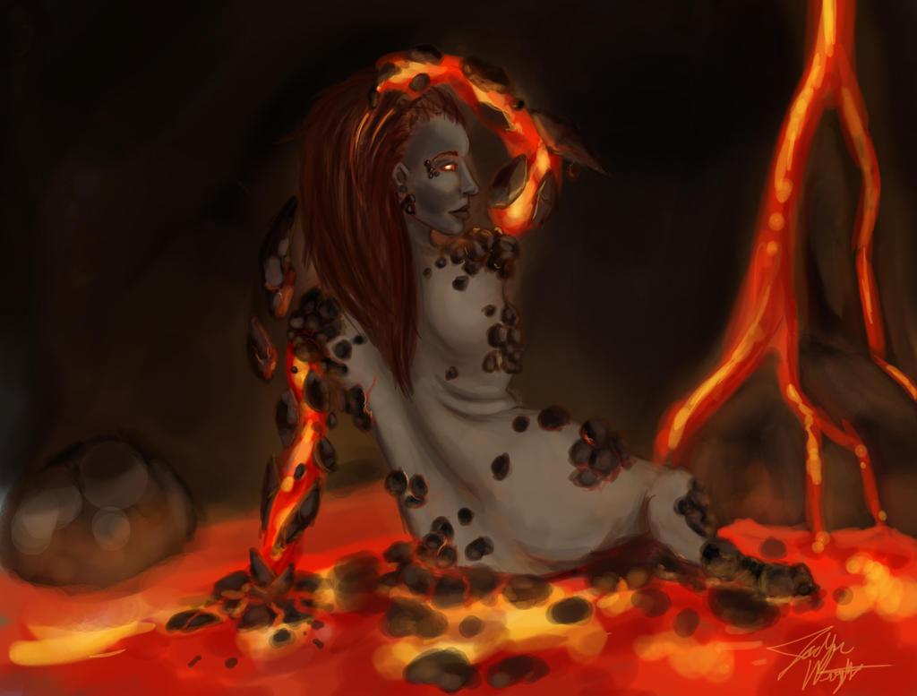 Lava Elemental by random-syhn