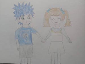 Sonic Kurogane and Aoi Zaizen: Childhood Memories