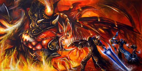 Fan Art World of Warcraft X by ArtByAntera