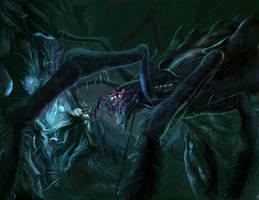 Melkor -morgoth- vs Ungoliant