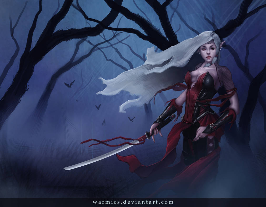 Female vampire by warmics