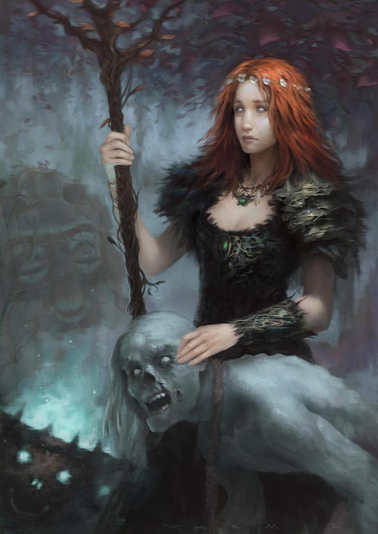 Outcast Odyssey - Witch by Warmics