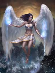 Aquarius Angel by Warmics