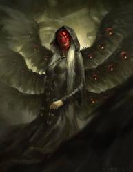Winged Death by Warmics
