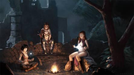 Campfire by Warmics