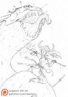Wild Girl 1 by Warmics