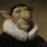 Rembrandt Goblin by Warmics