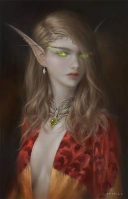Fanart - Blood Elf