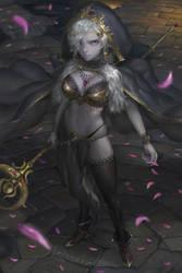 Hood Priestess by Warmics