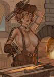 Elf Blacksmith
