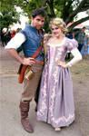 Renaissance Rapunzel and Flynn