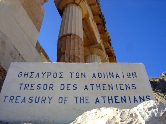 The Treasury Of The Athenians by eileanrosephotoz on ...