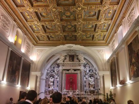 Chiesa del Purgatorio (Foggia) - interno 1