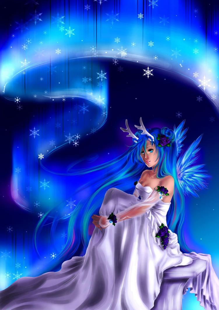 Aurora Angel by oORayonOo
