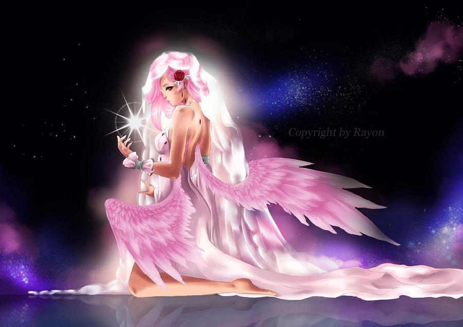 White Angel by oORayonOo