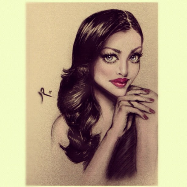 The stunning Aishwarya Rai by lilirch