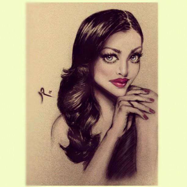 The stunning Aishwarya Rai by lilirch