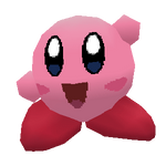 Kirby Low Poly :anim: by JARV69