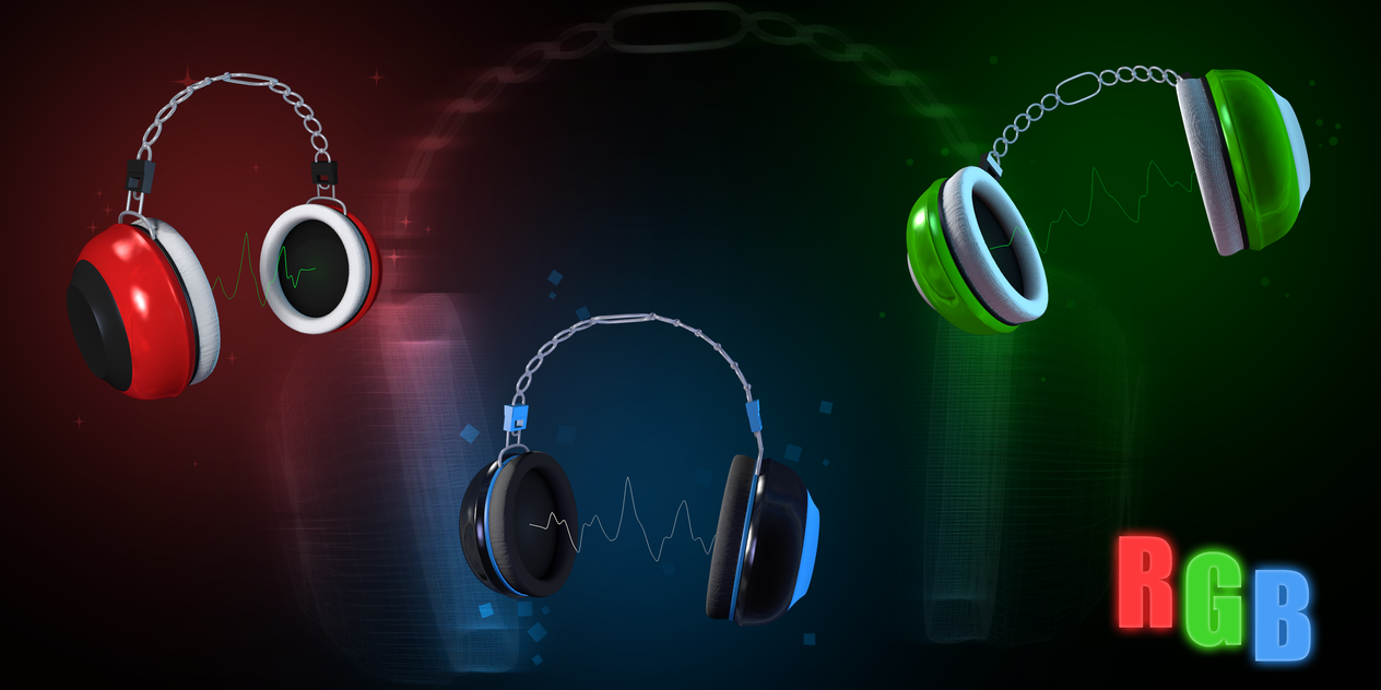 Headphones concept by J4RV
