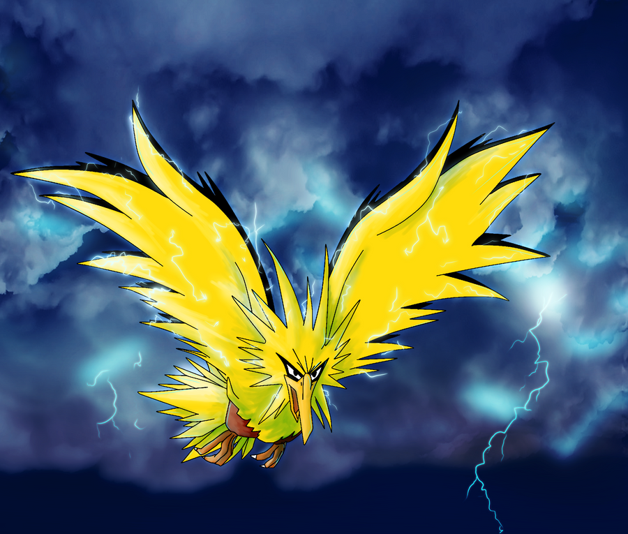 Zapdos by JARV69