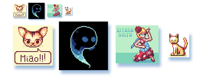 Some more pixel art